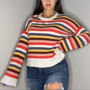 Madewell wide sleeve sweater M